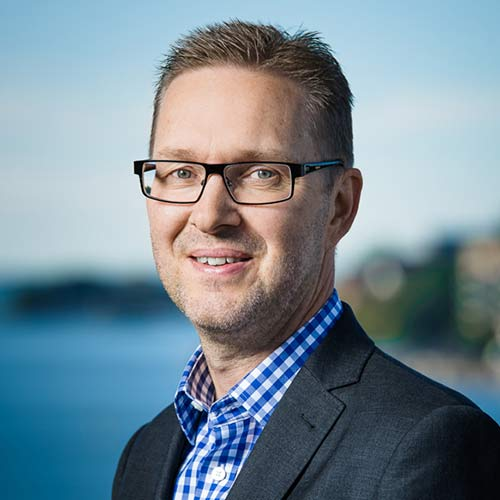 Johan Holm, blog author