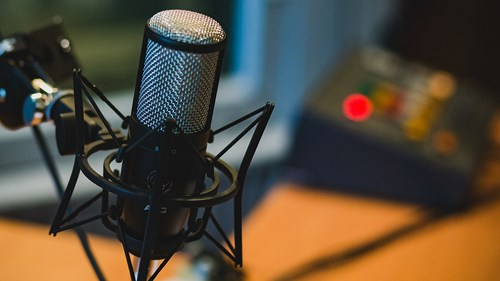 microphone, podcast