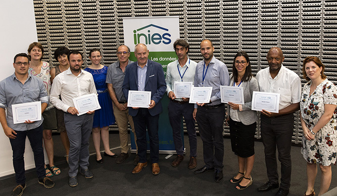 Photo of the Inies award winners