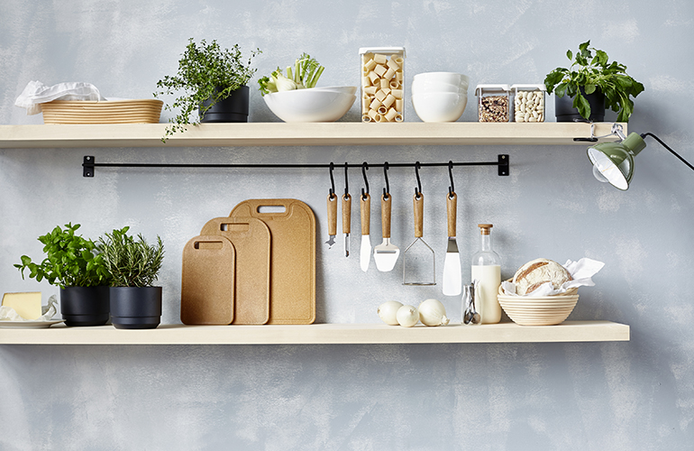 Orthex and Stora Enso's new range of kitchen utensils made from biocomposite