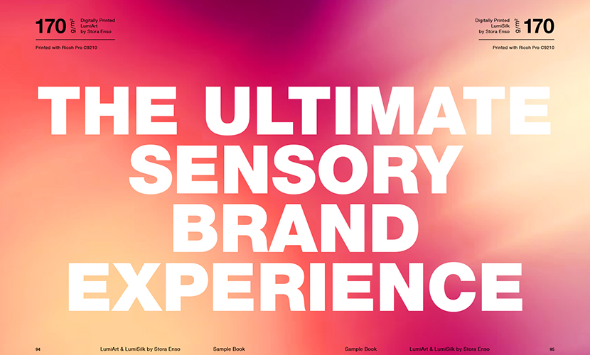 The ultimate sensory brand experience