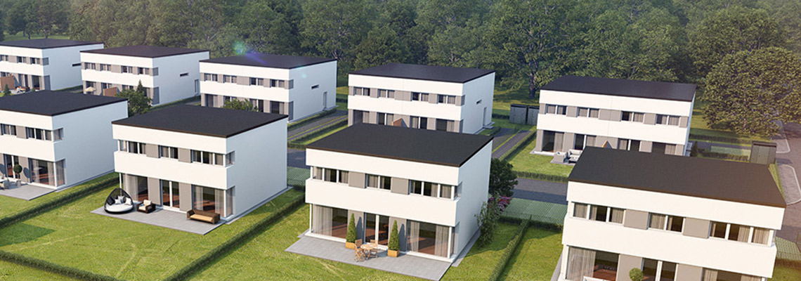 Passive house development - 1-2 Family Dwellings - Gneixendorf, Austria
