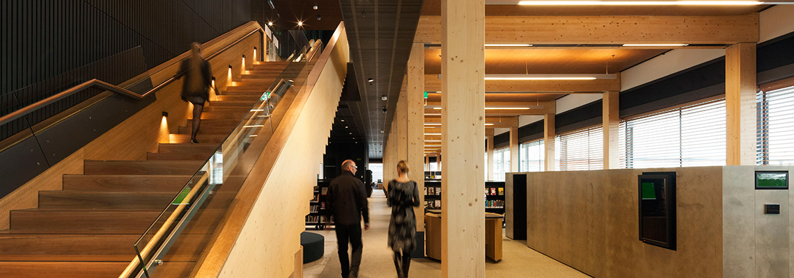 Library at The Dock - Commercial - Melbourne, Australia