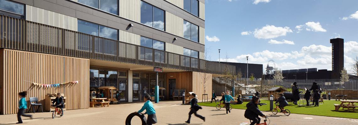 Mossbourne Riverside Academy - Education - London, United Kingdom
