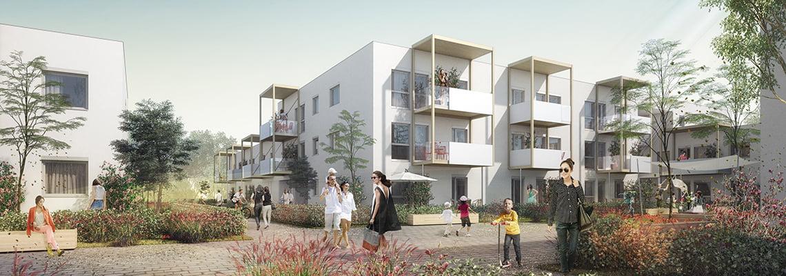 Appartment building Sternaeckerweg - Flats - Graz, Austria