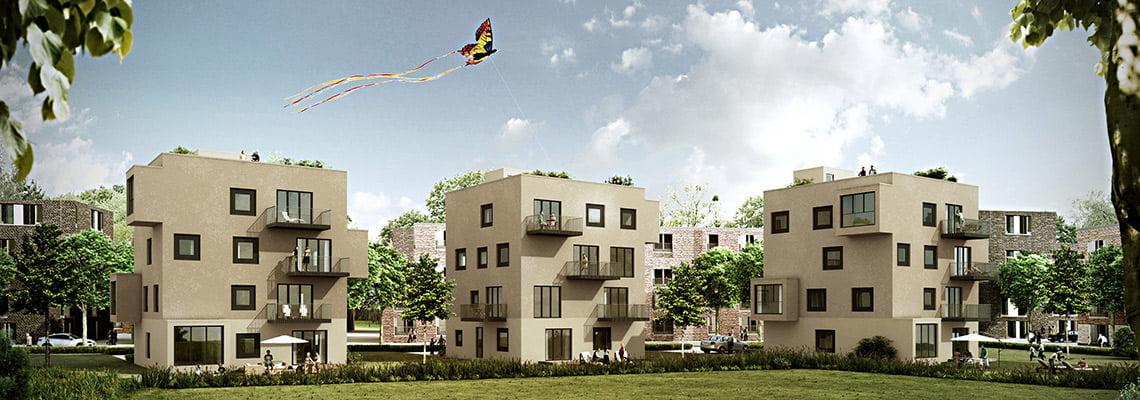 Barmbeck - Flats - Hamburg, Germany