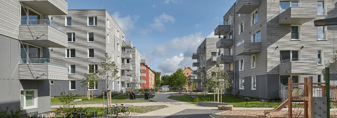 Ustra Residential Estate - Flats - Hannover, Germany