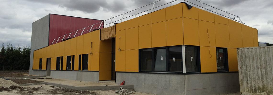 Municipal Technical Center - Industrial - Breuillet, France