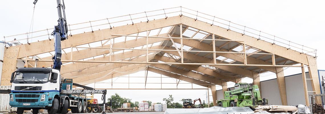 Storage hall - Industrial - Parthenay, France