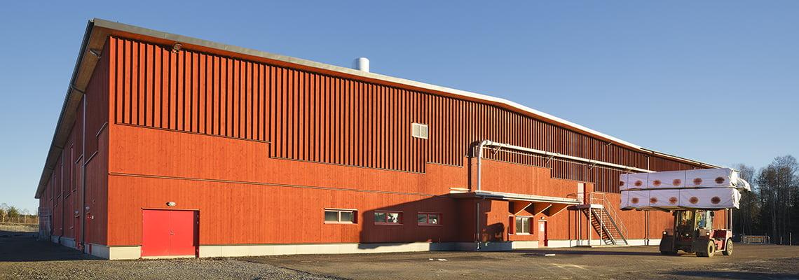 Stora Enso CLT Mill - Industrial - Gruvön, Sweden