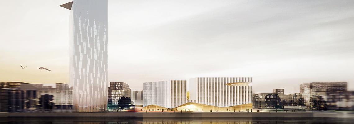 Wood City Office - Office - Helsinki, Finland
