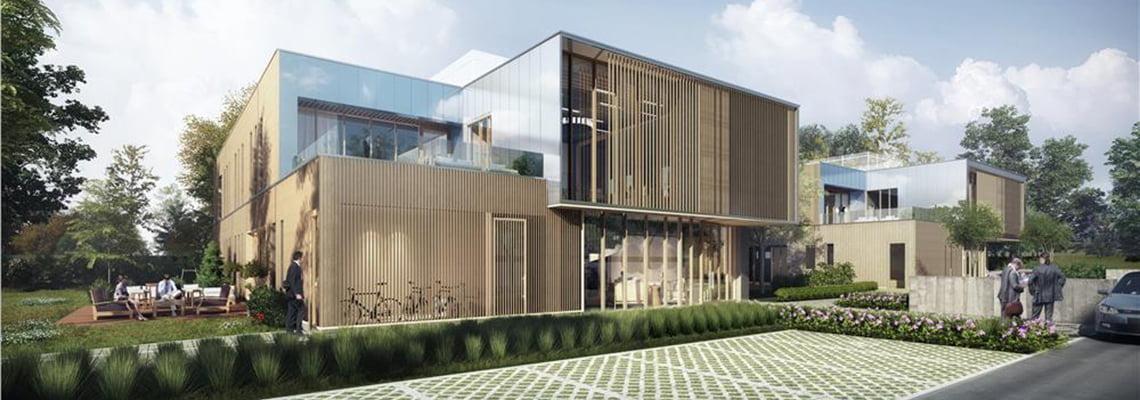 Les Jumeaux - Parc Racine² - Office - Villeneuve d'Ascq, France