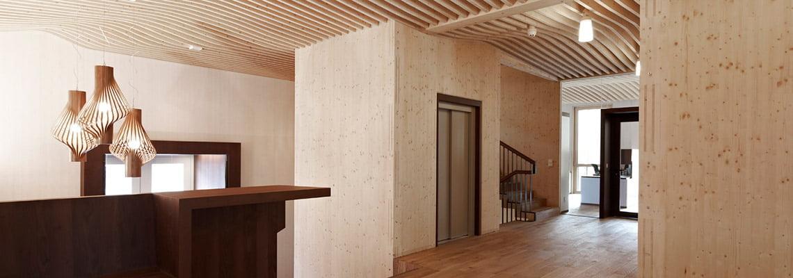 LignoAlp office building - Office - Brixen, Italy