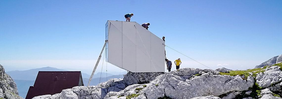 Winter Cabin on mount Kanin - Others - Bovec, Slovenia