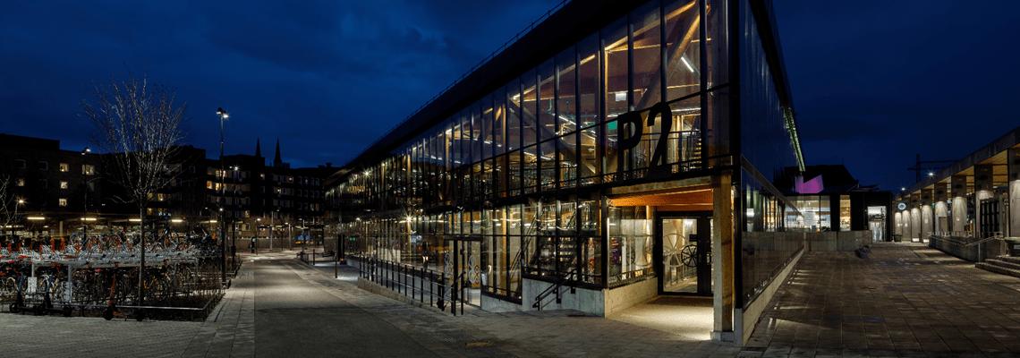 Parking garage for cycles - Others - Uppsala, Sweden